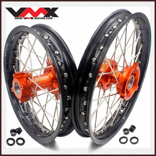 VMX 14/12 Kid's Wheel Fit KTM SX 65  Orange Hub