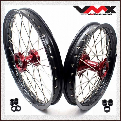 VMX 19/16 Kid's Big Wheel Set Fit CRF150R 2007-2018  Red