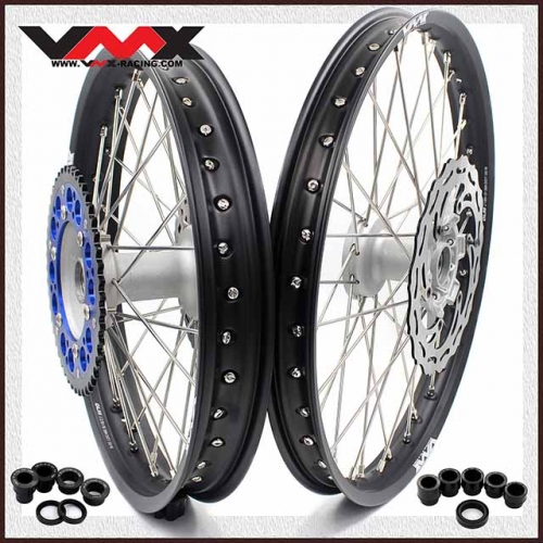 VMX 21/19 Casting Wheels Set Fit YAMAHA YZ 250F 450F YZ125/250 With Disc