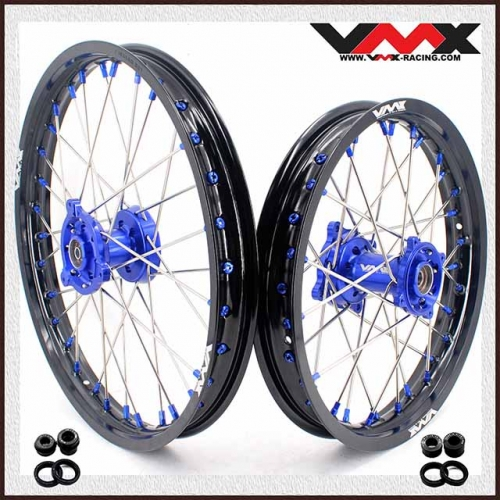 VMX 19/16 Kid's Big Wheel Fit YAMAHA YZ80 YZ85  Blue Nipple