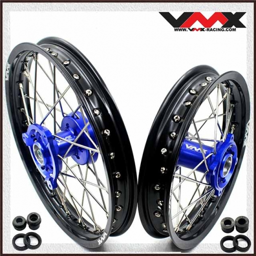 VMX 14/12 Kid's Wheels Fit YAMAHA YZ65  Blue