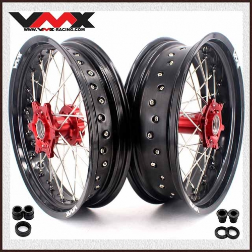 VMX 3.5/5.0 Supermoto Wheel Fit BETA RR Red Hub