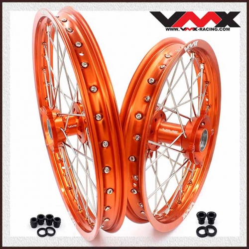 VMX KID'S BIG WHEEL FOR KTM SX 85 19/16 ORANGE HUB/RIM