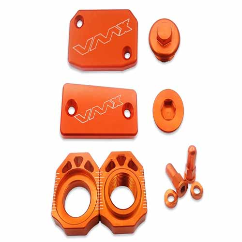 KTM CNC BLING KITS FOR EXC 250 350 450 500 SX250  6PCS ORANGE