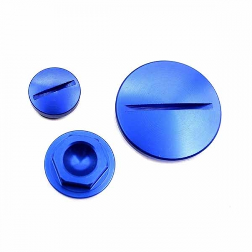 YAMAHA ENGINE PLUGS SETS COVERS YZ250F 450F WR250F/450F YZ85/125 2012 BLUE 42MM