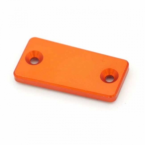 KTM CNC ALUMINUM FRONT CLUTCH RESERVOIR COVER FOR SXF EXC XCW 125 250 ORANGE