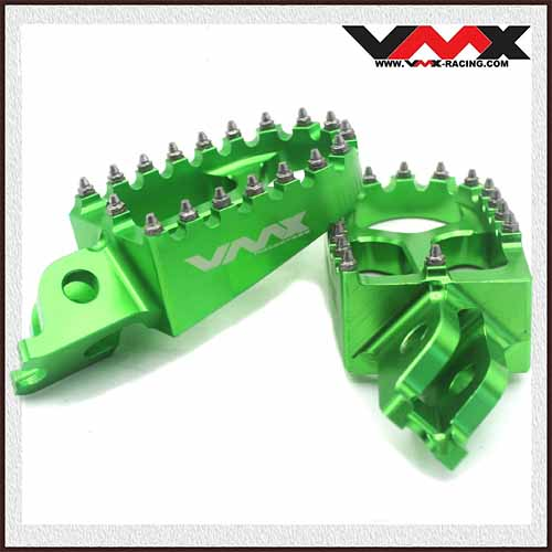 HONDA FOOTPEGS GREEN CRF150R CRF250R/450R CRF250X/450X