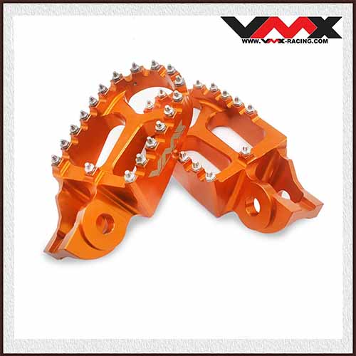 Footpegs Footrest Compatible with KTM SX SXF 125 250 2016 Orange