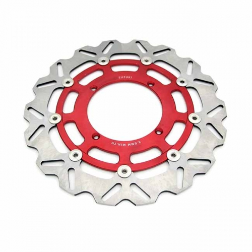 HONDA 320MM OVERSIZE FRONT BRAKE DISC ROTORS RED CRF250R CRF450R