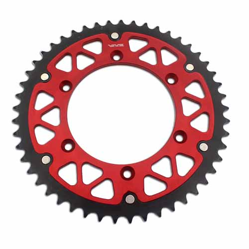 HYBRID RED SPROCKET 49T FIT SUZUKI RMZ 250 450 DRZ 400E/S/SM RM 125  WITH SCREWS