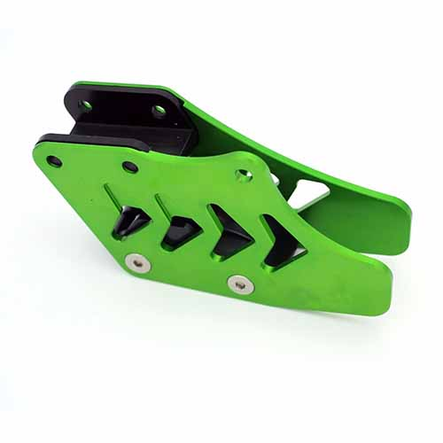 KAWASAKI ALUMINUM CHAIN GUARD OR SPROCKET GUIDE FOR KX250F 2004-2015 CNC GREEN