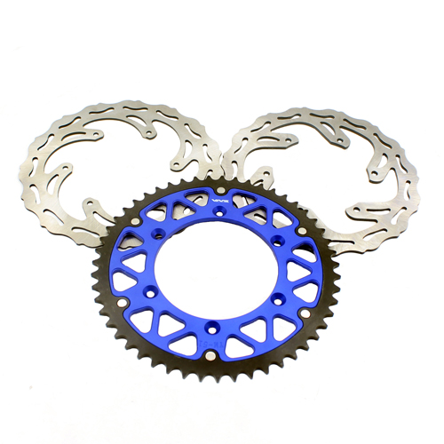 YZF WRF BLUE 49T SPROCKET 270MM FRONT ROTORS  245MM REAR DISC FIT YAMAHA