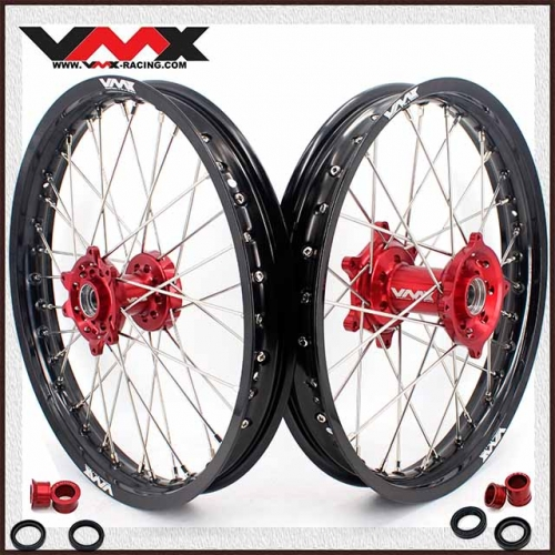"VMX 1.85*19"" 2.15*19"" Flat Track Wheels Set Fit HONDA CRF250R CRF450R 2012-2012"
