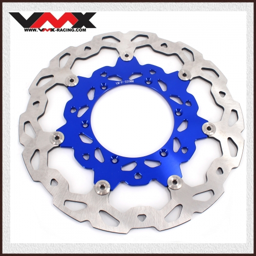 320MM OVERSIZE FRONT BRAKE DISC ROTORS FIT YAMAHA BLUE YZF WRF