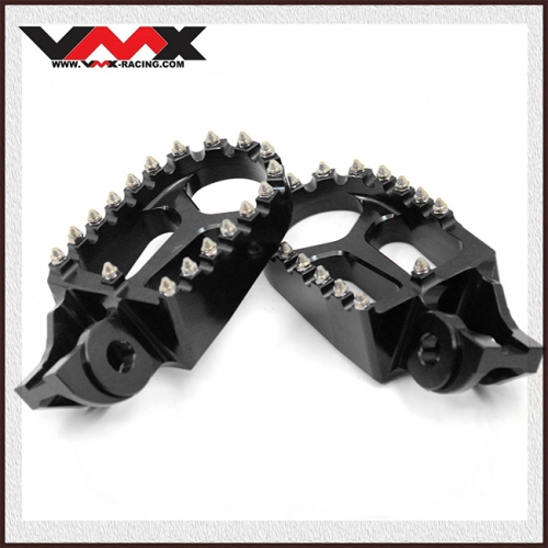 Footpegs Footrest Compatible with KTM SX SXF TC125 FC250-450 2020 Black