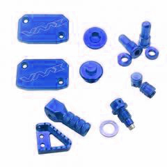 CNC BLING KITS 8PCS Blue Compatible with KTM EXC250 EXC300 EXC350 SX250 SXF450 EXC500
