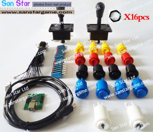 New Arrival:Arcade Controller+Joystick+Push Button+Microswitch For Push Button