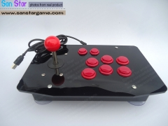 Free Shipping USB Fighting Stick With build-in 8 Button Arcade controller Joystick Arcade parts