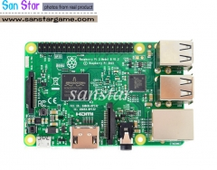 Raspberry Pi3 Model B Support WiFi and Blue tooth Quad Cord CPU 1GB RAM 1.2GHz Board Clock Speed