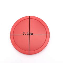 10 pcs Air Hocky Puck  Diameter 7.4cm  plastic material  for Child Air Hockey Accessories