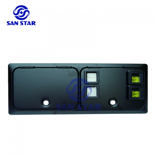Double Drop Coin Acceptor Coin Door Not Include Coin Selector