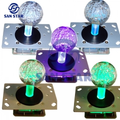 Changing Color flashing light LED Illuminated Arcade Button