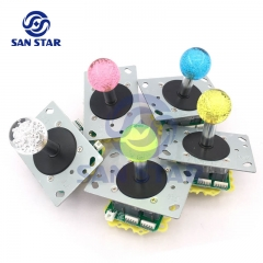 Crystal Bubble Ball Top LED Arcade Joystick  Illuminated arcade Joystick