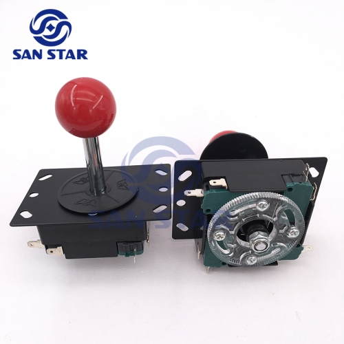 Metal Base Flexible Arcade Joystick