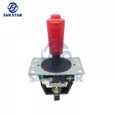 Illuminated Small Button Top Arcade Crane Joystick