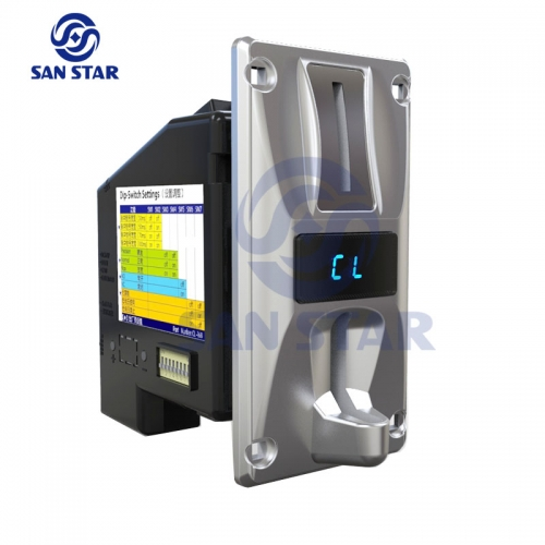 LED Display Multi Coin Acceptor Can Work 3 Groups Of Coins