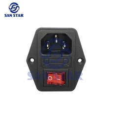 3 In 1 LED Switch Socket