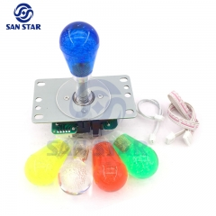 5V Bat Top LED Illuminated Arcade Joystick Can Use With Arcade Encoder