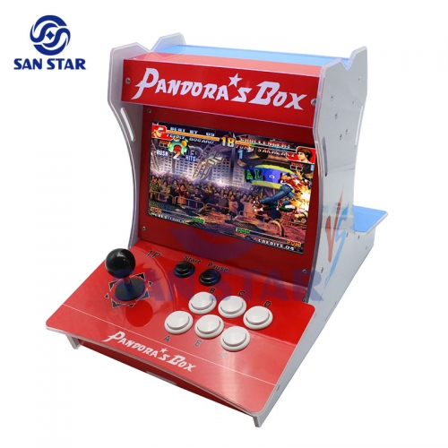 Free Shipping Mini Acrylic Game Machine With New Pandora Box 9 1500 Games