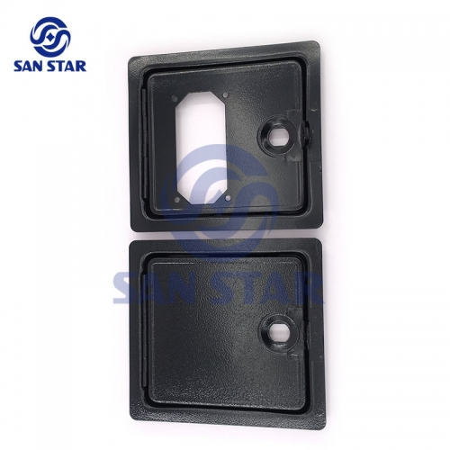 Small Twin Door Coin Door For Coin Operated Machine