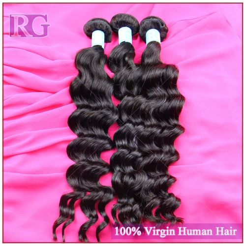 9A Virgin Malaysian Hair Natural Wave 3 Bundles/Pack Best Bundle Deals RG HAIR Free shipping