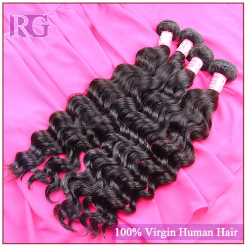 Peruvian Natural Wave Hair 4 Bundles/Pack, Virgin Hair weaves, 100% Human Hair Free Shipping