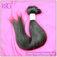 Straight Indian Virgin Hair 1 Bundle Human Hair Bundle Deal RG Hair