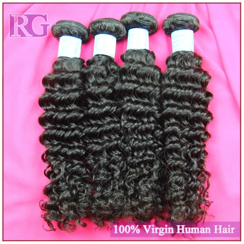 9A Malaysian Hair Deep Wave 4 Bundles/Pack Virgin Human Hair Bundles deal Free Shipping