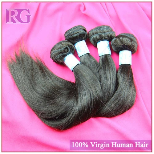 9A Malaysian Straight Hair 4 Bundles/Pack, RG Virgin Hair Bundles deal