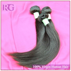 Virgin Indian Straight Hair 3 Bundles/Pack Human Hair Bundle Deals RG HAIR Free shipping