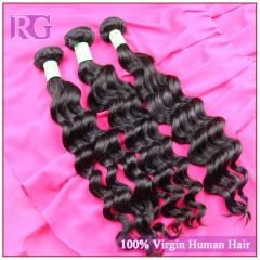 Indian Virgin Hair Natural Wave 1 Bundle Human Hair Bundle Deal RG Hair