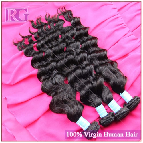 9A Malaysian Virgin Hair Natural Wave 4 Bundles/Pack Free Shipping