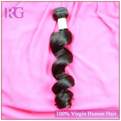 Virgin Indian Hair Loose Wave 1 Bundle Human Hair RG Hair Bundle Deal