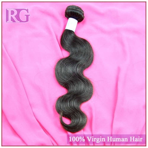 Malaysian Virgin Hair Body Wave, Grade 9A 1 piece Human Hair Bundle Deal RG Hair Brand