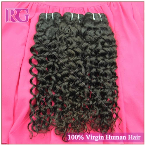 Grade 10A Brazilian Virgin Remy Hair Weaves Italian Curl 3 Bundles/Pack Cuticle intact Best Quality