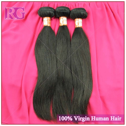 3 Bundles/Pack Raw Hair Brazilian Virgin Hair Weaves Straight Bundles Deal Full cuticle intact