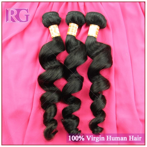 3 Bundles/Pack Brazilian Virgin Hair Weaves Loose Wave Best Deal Grade 10A No.1 Quality Raw Unprocessed Hair Bundles