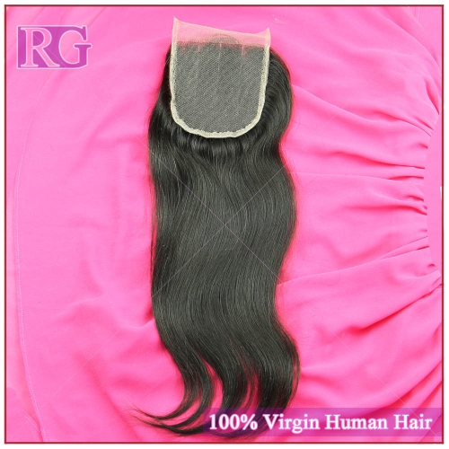 Lace Closure Virgin Hair Straight Closure, Human Hair Closure piece Best Deal