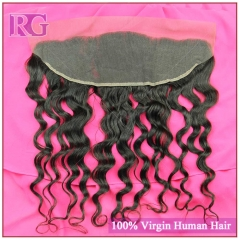 Lace Frontal Natural Wave 13*4 Virgin Hair Frontal More Waves Frontal