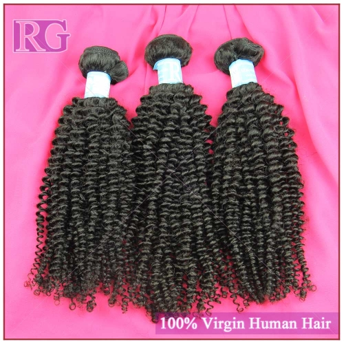 9A Malaysian Virgin Hair Kinky Curly 3 Bundles/Pack , Pure Human Hair Bundle Deals Free shipping